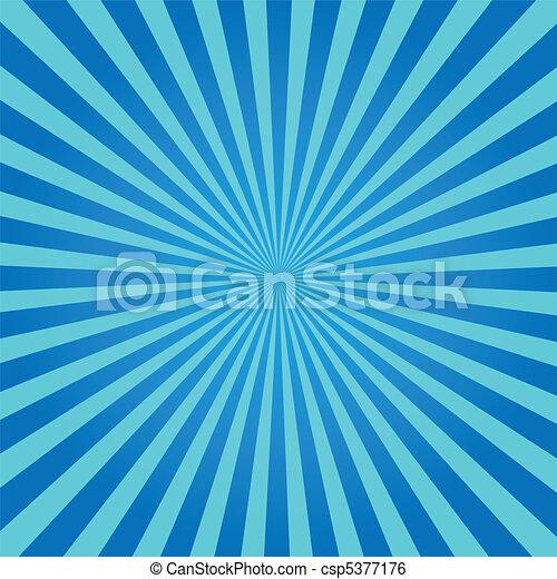 blu, sunburst - csp5377176