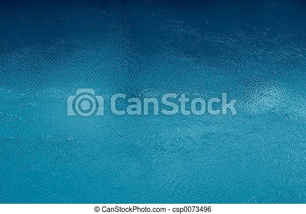 blu, superficie, oceano - csp0073496