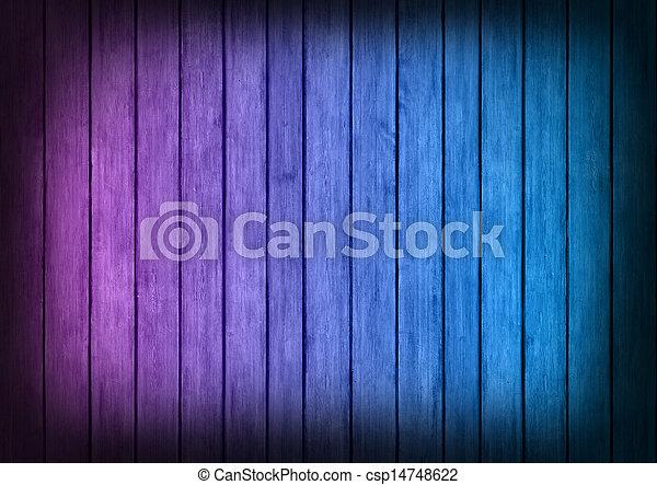 blu, viola, struttura, legno, fondo, pannelli - csp14748622