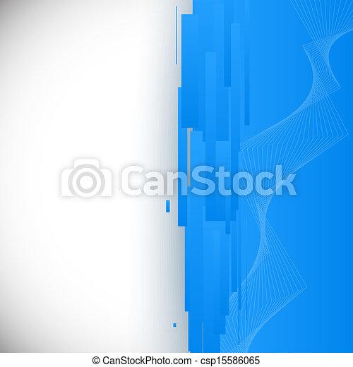 Blue 3D Background - csp15586065