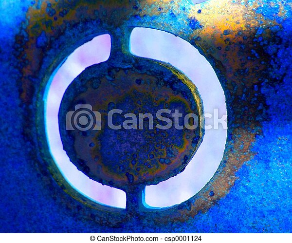 Blue Abstract 7 - csp0001124