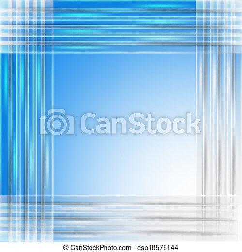blue abstract backdrop - csp18575144