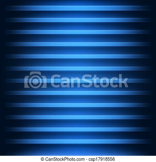 Blue abstract backdrop with 3d effect - csp17918556