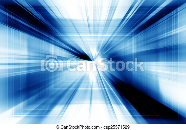 Blue Abstract Background - csp25571529