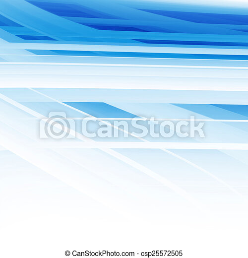 Blue Abstract Background - csp25572505