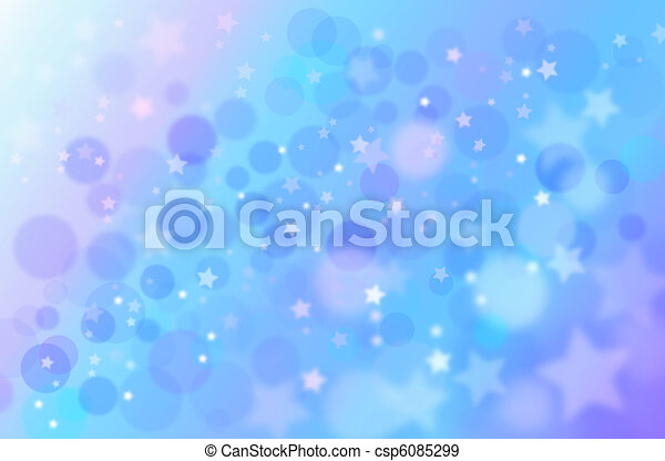 Blue abstract background - csp6085299