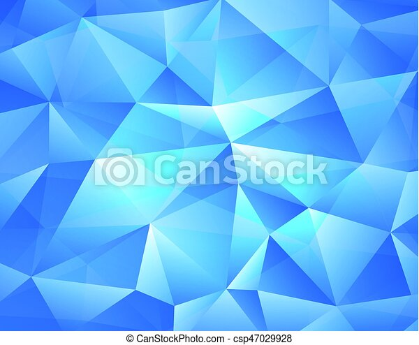 blue abstract background - csp47029928