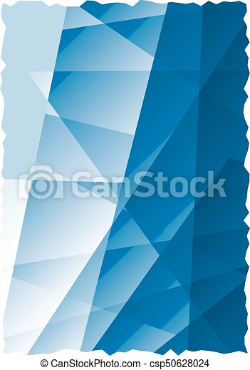 Blue abstract background - csp50628024