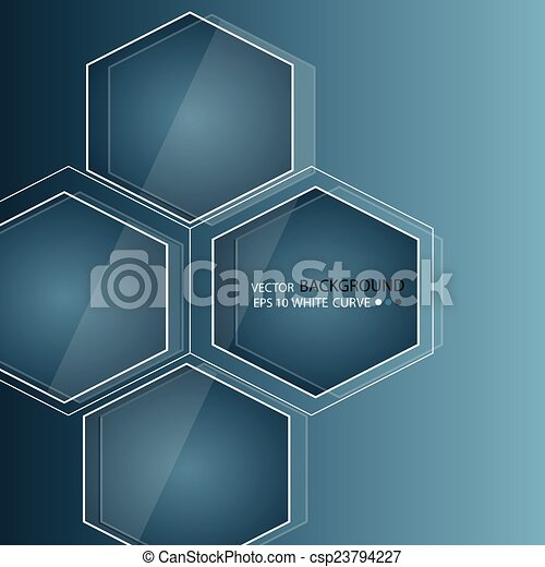 Blue abstract background in techno style. - csp23794227