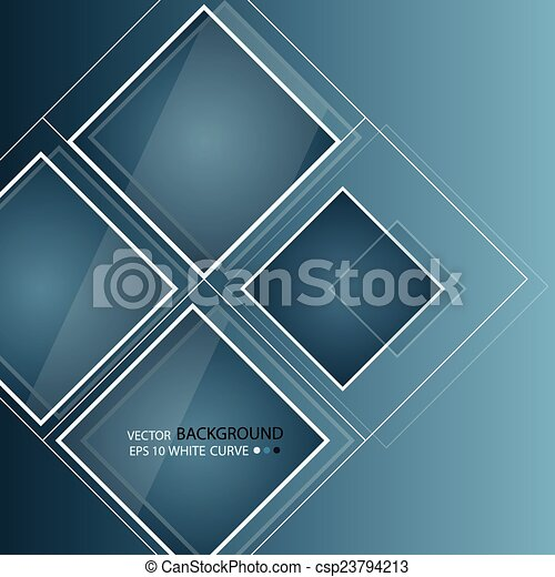 Blue abstract background in techno style. - csp23794213