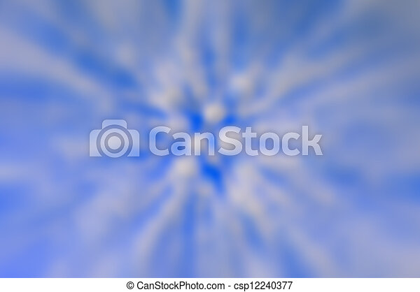 blue abstract background. - csp12240377