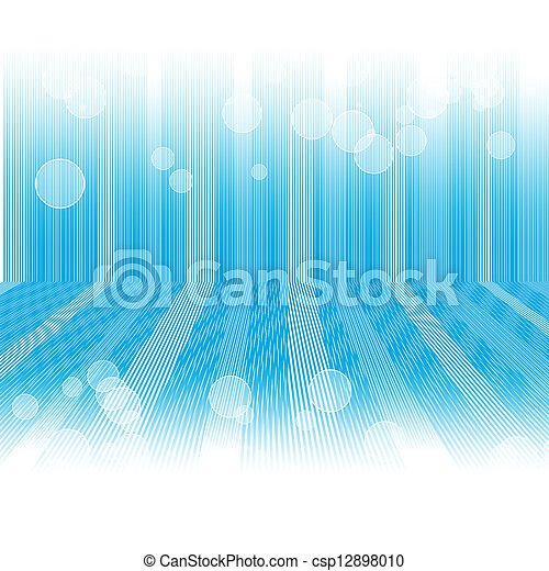 Blue abstract background - csp12898010