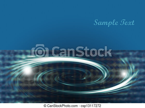 Blue abstract background - csp13117272