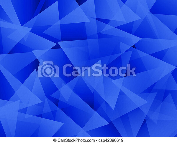 Blue Abstract Background - csp42090619