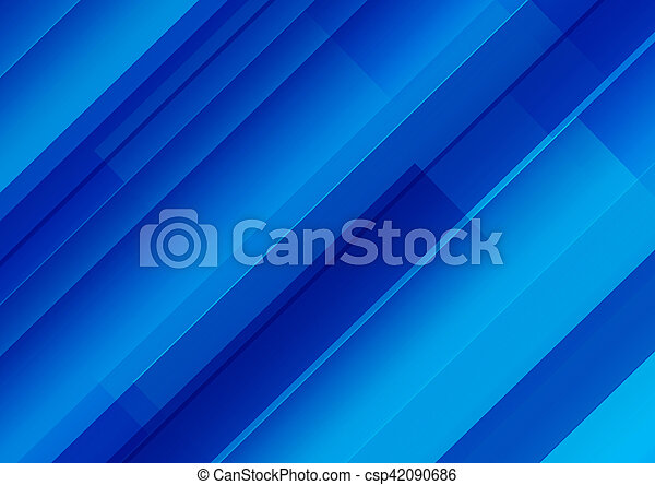 Blue Abstract Background - csp42090686