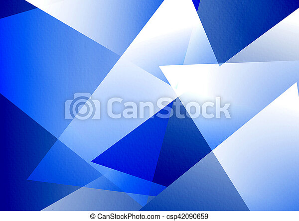 Blue Abstract Background - csp42090659