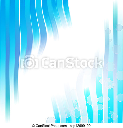 Blue abstract background - csp12699129