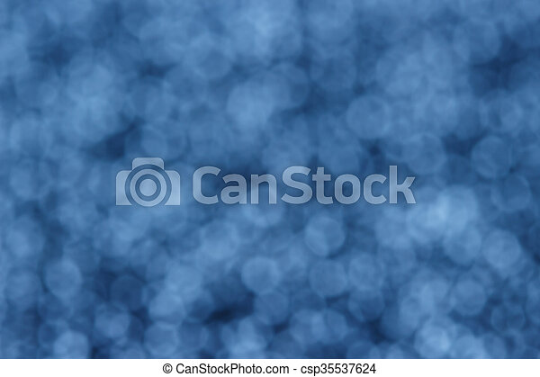 blue abstract background - csp35537624