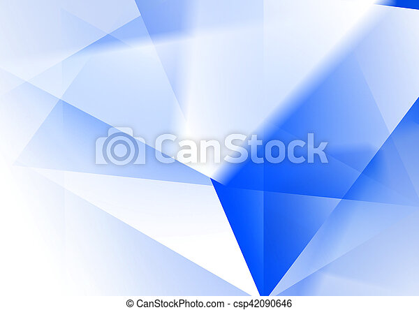 Blue Abstract Background - csp42090646