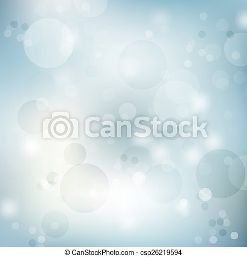 Blue Abstract Blurred backgrounds - csp26219594