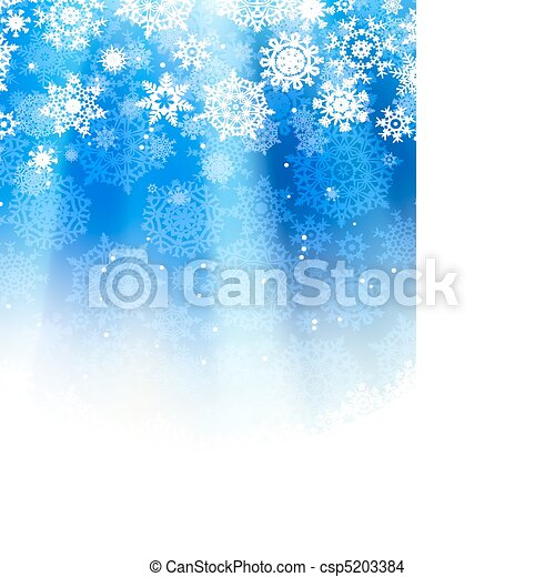 Blue abstract christmas. EPS 8 - csp5203384