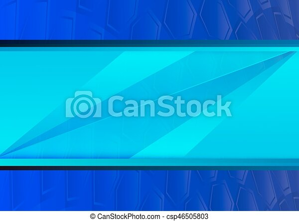 Blue abstract poly background with copy space - csp46505803
