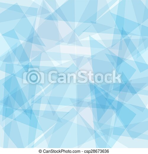 Blue abstract vector background for design - csp28673636