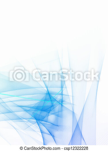 Blue abstract wallpaper - csp12322228