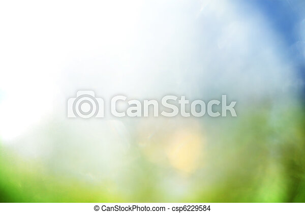 Blue and green abstract background - csp6229584