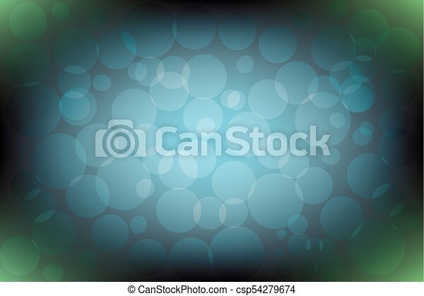 Blue and green (khaki color) gradient background with pattern - csp54279674