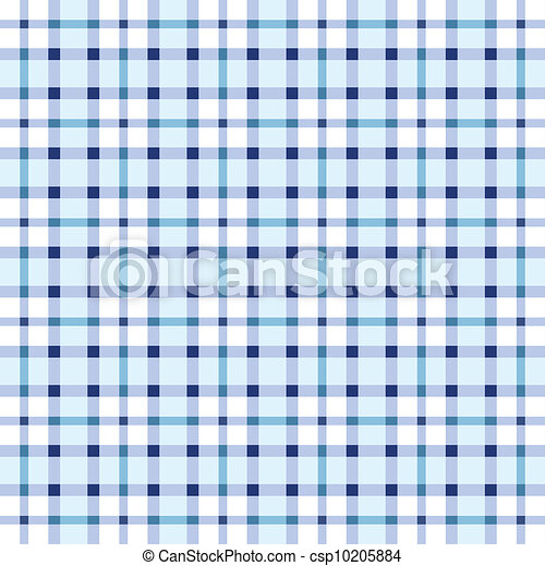 Blue and white seamless pattern - csp10205884