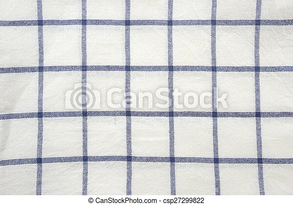 Blue And White Square Tablecloth Background   Csp27299822