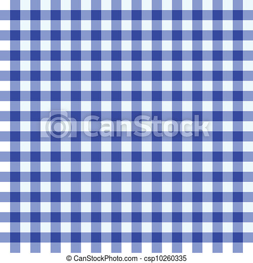 Blue And White Tablecloth   Csp10260335