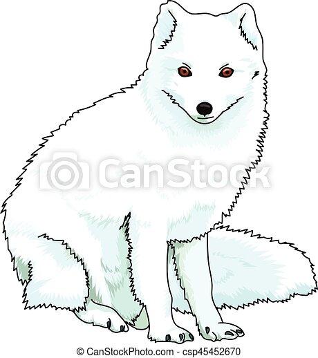 Kurama Arctic Fox Drawing Yu Hakusho - Silhouette Transparent PNG