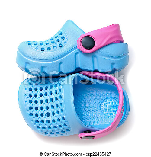 92ac1c6a0 Blue baby shoes isolated on white background.