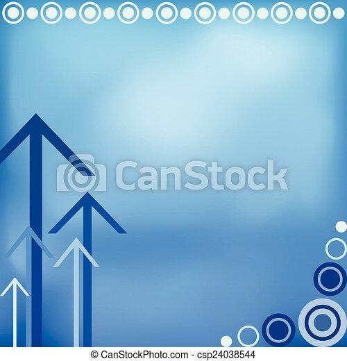 Blue background design - csp24038544