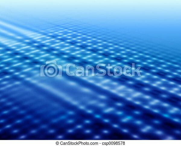 Blue background - csp0098578