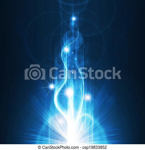 blue background - csp19833852