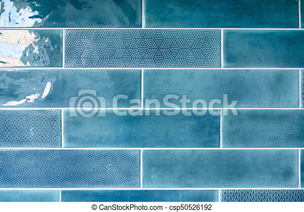 kitchen blue tiles texture. Blue Background With Ceramic Tiles - Csp50526192 Kitchen Blue Texture O