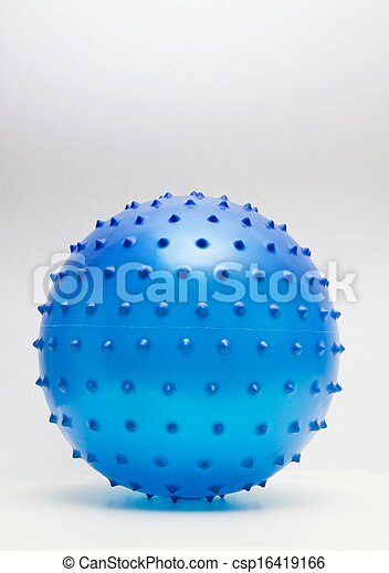 blue ball isolated - csp16419166