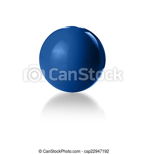 Blue ball - csp22947192