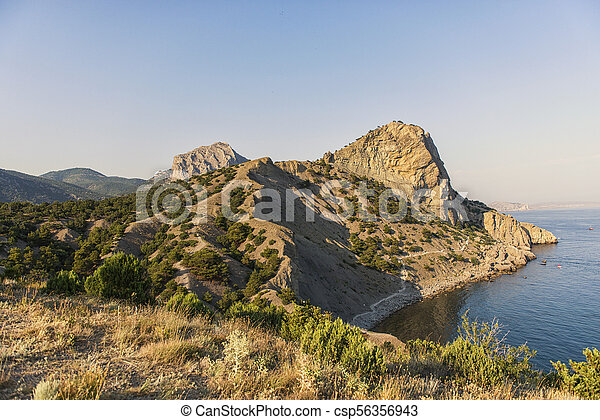 Blue Bay. The Pirat Bay. - csp56356943