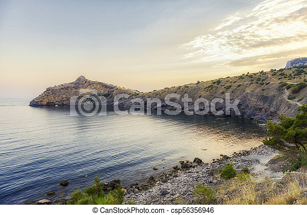 Blue Bay. The Pirat Bay. - csp56356946