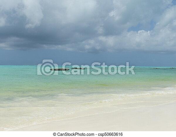 Blue beach - csp50663616