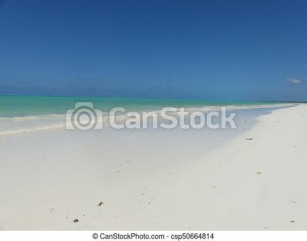 Blue beach - csp50664814