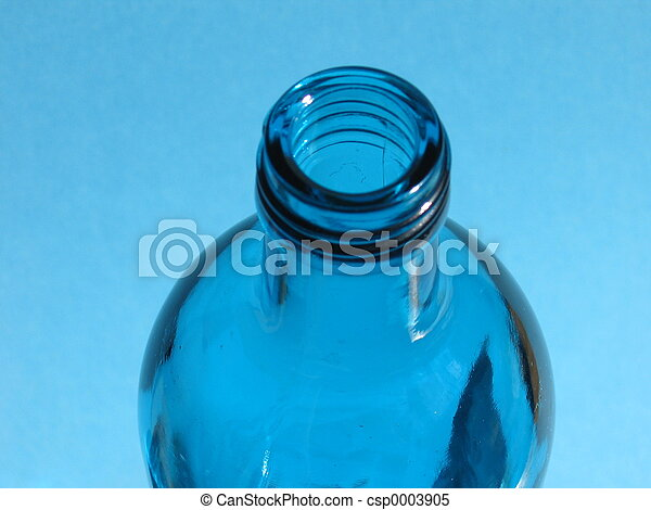 Blue Bottle I - csp0003905