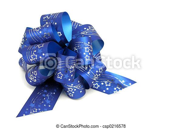 Blue Bow - csp0216578