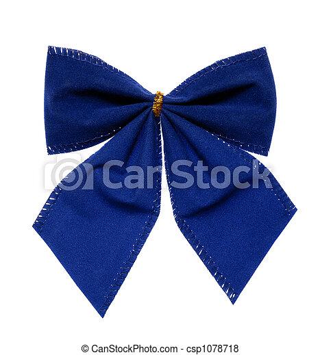 Blue Bow - csp1078718