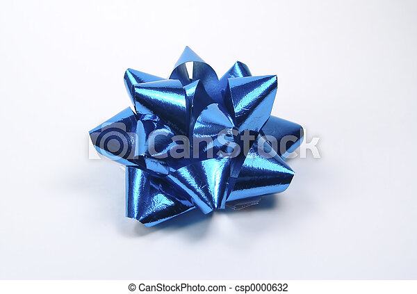 Blue Bow - csp0000632