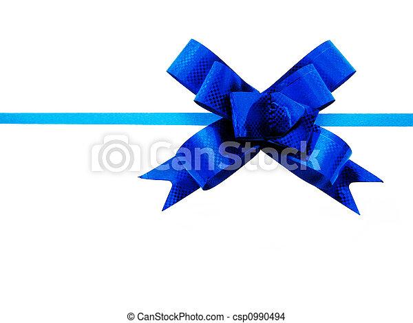 blue bow - csp0990494